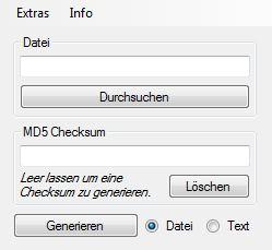 Vorschaubild MD5-Check